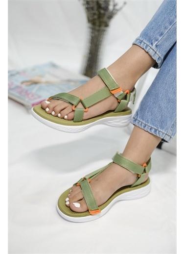 Oksit Spor Sandalet Yeşil